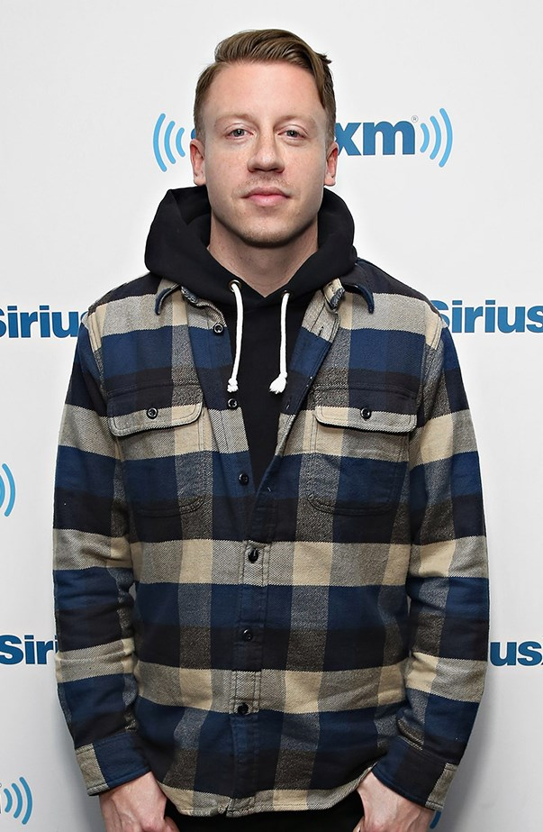<p>Macklemore's real name is Ben Haggerty.