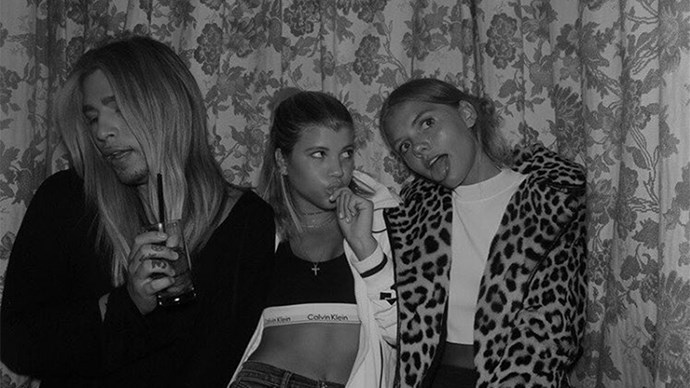 Sofia Richie Hanging With Bronte Blampied