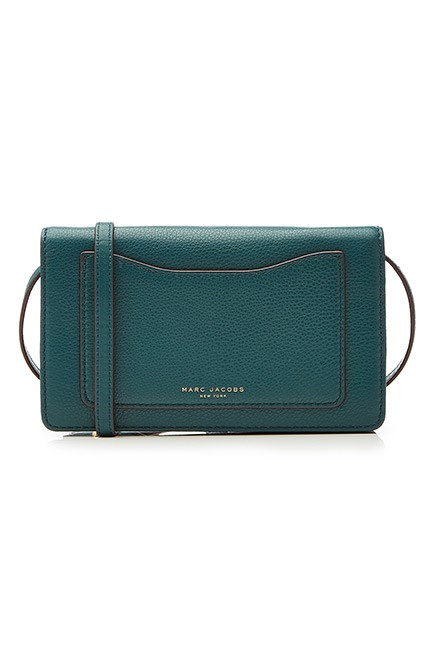 "A cross-body bad that adds a pop of colour to a monochrome ensemble. <br><br>Bag, $345, <a href=""http://www.stylebop.com/au/product_details.php?id=685150"">Marc Jacobs at stylebop.com</a>"
