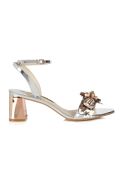"""Florals for spring? Groundbreaking."" They are when they're on Sophia Webster sandals. <br><br>Sandals, $684, <a href=""http://www.matchesfashion.com/au/products/Sophia-Webster-Lilico-patent-leather-block-heel-sandals-1052130"">Sophia Webster at matchesfashion.com</a>"