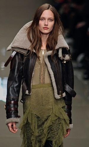 Burberry Military Trend