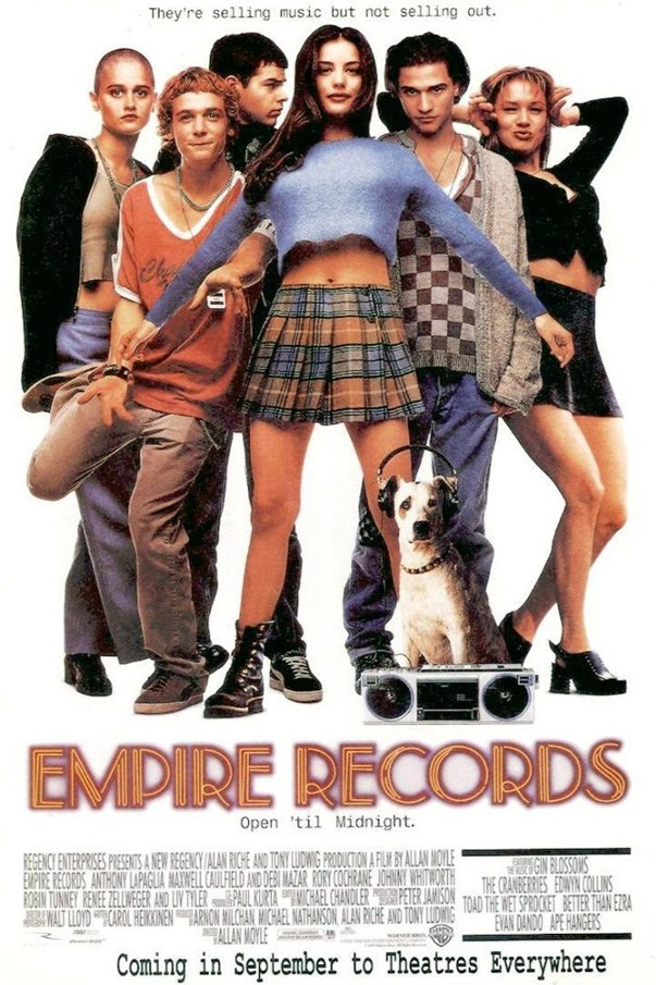 <p><strong><em>Empire Records</em> (1995)</strong><p><br> Thanks to her days working at the Empire Records' music store, Liv Tyler will always be the coolest teen ever.