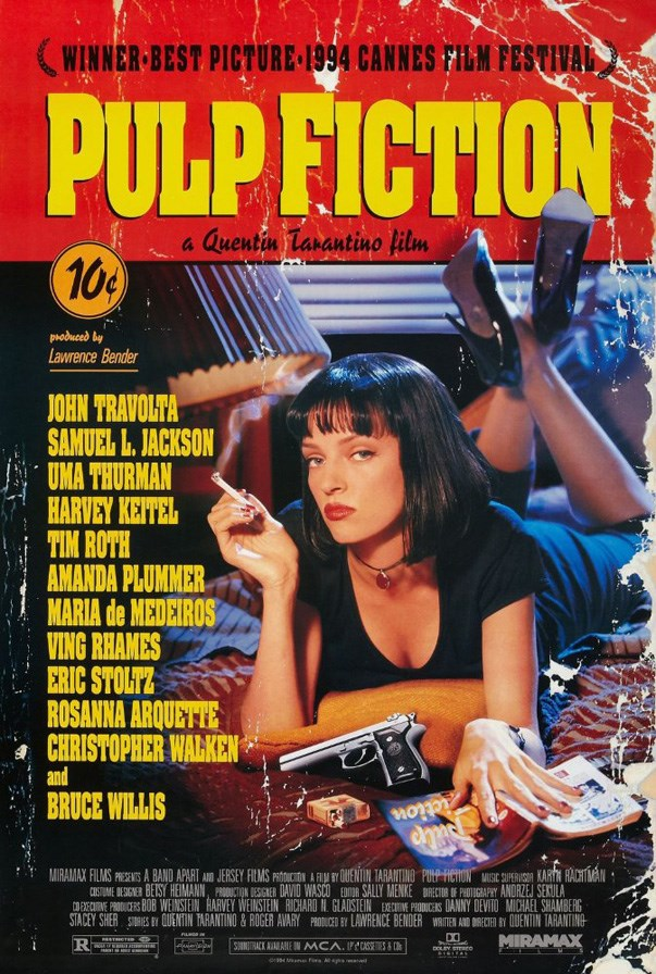 <strong><p><em>Pulp Fiction</em> (1994)</strong><p><br> This Tarantino classic features the best dance scene in movie history.