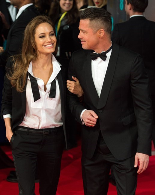 """Asked by the Daily Mail if he cares about what Angelina thinks about his work, Brad responded, """"Of course I want her approval. Angie is a force, she cares deeply. I want her to be proud of her man."""""""
