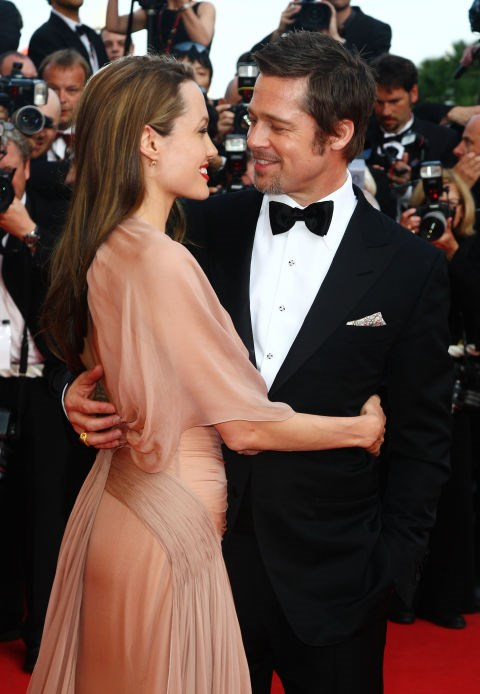 <p><strong>May 2009</strong><p> At the<em> Inglourious Basterds </em>premiere at Cannes Film Festival.