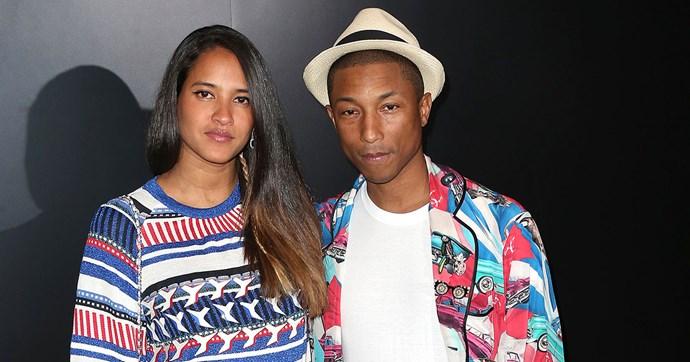 Pharrell Williams wife pregnant