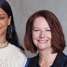 So Rihanna And Julia Gillard Are Working Together Now image