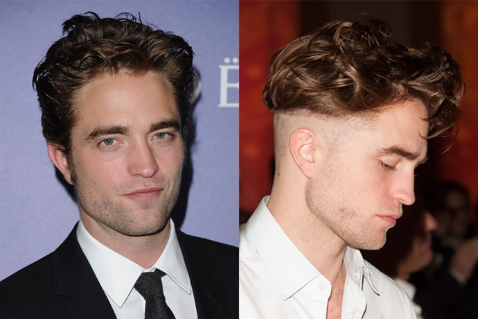 Robert Pattinson suspended his 'heartthrob' status for a hot minute when he shaved half of his head and as well as an exclamation point into the back of it.