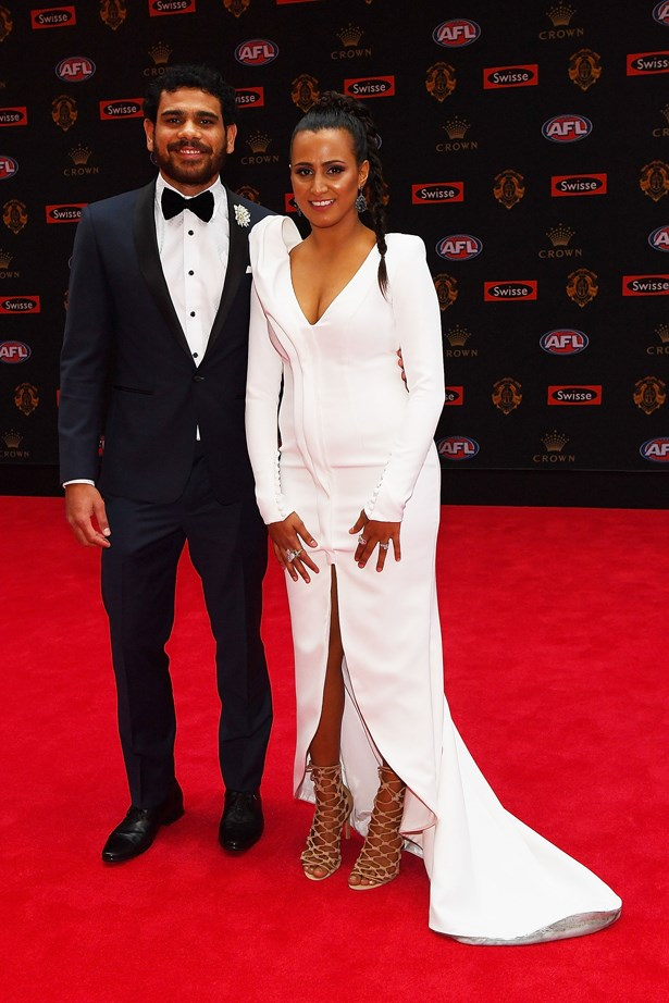 Cyril and Shannyn Rioli.