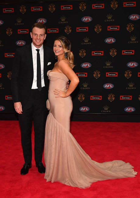 Brendon Goddard and Rosie Brookes