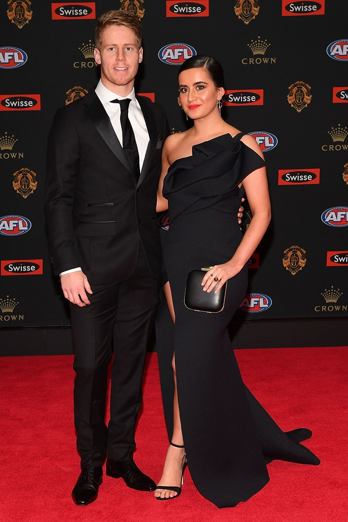 Lachie Hunter and Maddison Sullivan-Thorpe