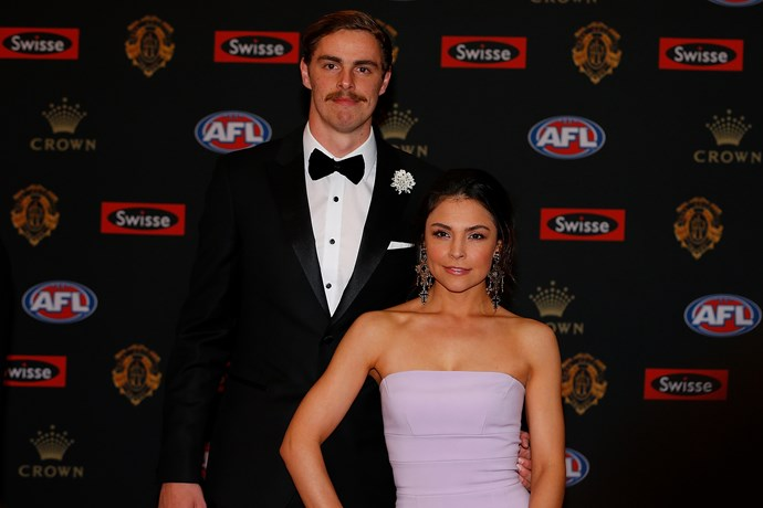Joe Daniher and partner