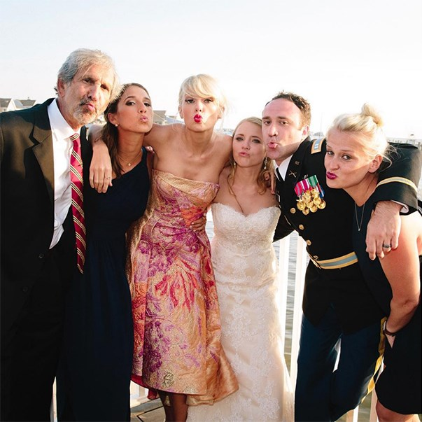 <p>Check out some very famous wedding crashers.