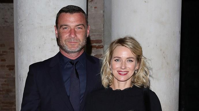 Naomi Watts and Liev Schreiber Split