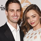 Miranda Kerr And Evan Spiegel Are Probably Going To Get To Some Baby-Making Soon image