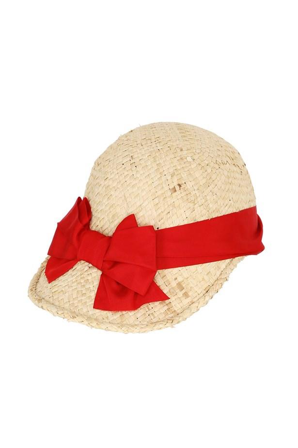 "<a href=""http://www.luisaviaroma.com/patrizia+fabri/women/hats/63I-VIR009/lang_EN/colorid_TkFUVVJBTC9SRUQ1?SubLine=accessories&CategoryId=53"">Hat, $255, Patrizia Fabri at luisaviaroma.com.</a>"