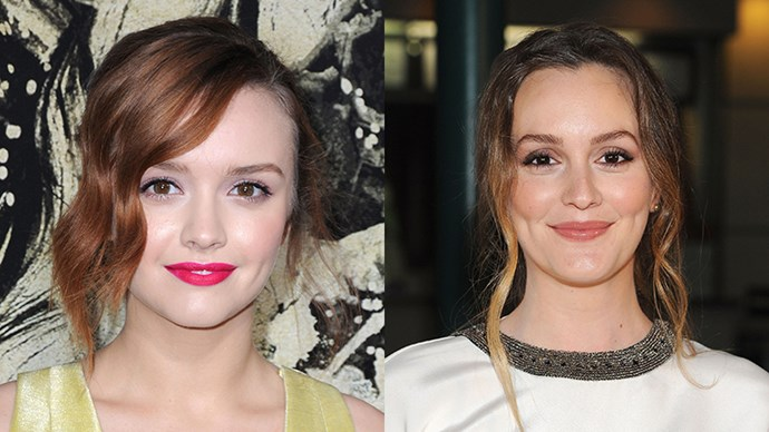 <p>Olivia Cooke and Leighton Meester.