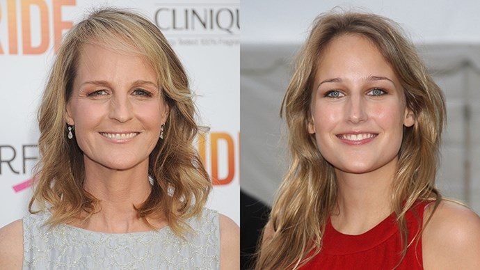 <p>Helen Hunt and Leelee Sobieski.