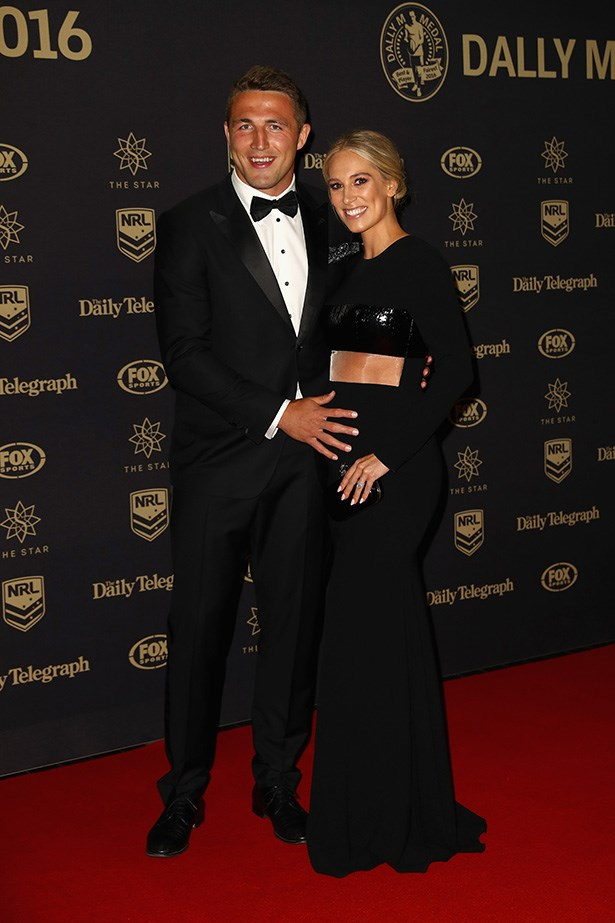 Sam and Phoebe Burgess.