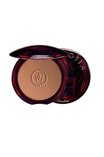"Beauty editors across the globe swear by the sun-kissed powers of Guerlain Terracotta. It gives the ultimate natural-looking glow. <br><br>Terracotta Terra Magnifica Limited Edition Bronzing Powder, $96, <a href=""http://shop.davidjones.com.au/webapp/wcs/stores/servlet/SearchDisplay?searchTermScope=&searchType=1000&filterTerm=&maxPrice=&showResultsPage=true&langId=-1&beginIndex=0&sType=SimpleSearch&metaData=&fromBrandDirectory=1&pageSize=21&manufacturer=&resultCatEntryType=&catalogId=10051&pageView=image&searchTerm=&facet=mfName_ntk_cs%253AGuerlain&minPrice=&categoryId=26553&storeId=10051&facetLabel=Guerlain"">Guerlain</a> (available October 23)"