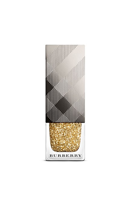 "The perfect polish for party season, Burberry's limited edition number will give any outfit the Midas touch. Get it before it goes. <br><br>Nail Polish in Gold Glitter, $29, <a href=""https://au.burberry.com/nail-polish-gold-glitter-no451-p40298271?search=true"">Burberry</a>"