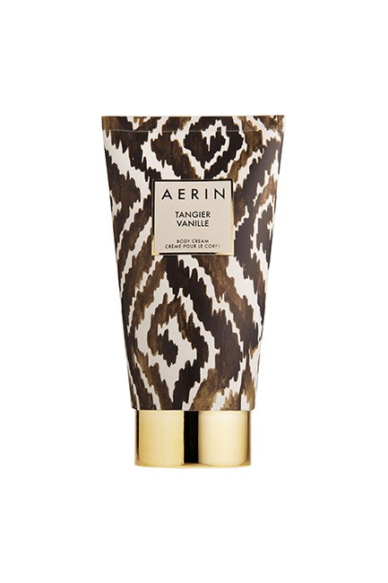 "Madagascan vanilla, Italian bergamot and Bulgarian rose make for a seriously dreamy body cream. The formula is quite rich so save it for the evenings. <br><br>Tangier Vanille Body Cream, $85, <a href=""https://www.esteelauder.com.au/product/9196/42568/Product-Catalog/Aerin/Tangier-Vanille/Body-Cream"">Aerin</a>"