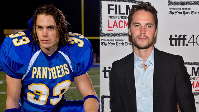 <P> <strong>Who:</strong> Texan man of our dreams, Tim Riggins, played by Canadian man of our dreams, Taylor Kitsch.<P> <P> <strong>Where are they now?</strong> After trying his hand at being a Hollywood leading man in <em>John Carter</em>, <em>X-Men</em> and <em>Battleship</em>, Taylor has stuck mostly to acting-driven roles like <em>True Detective </em>and <em>Lone Survivor</em>.