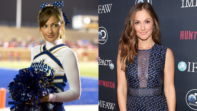 <P> <strong>Who:</strong> Our favourite love to hate, hate to love cheerleader Lyla Garrity, played by Minka Kelly.<P> <P> <strong>Where are they now?</strong> Minka has done quite a few rom-coms and TV spots since FNL, including <em>500 Days Of Summer</em>, <em>The Roommate</em> and <em>Charlie's Angels</em>.