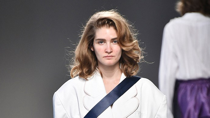 Moto Guo Sends Models Down Runway With Acne