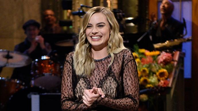 Margot Robbie Hosting SNL 2016