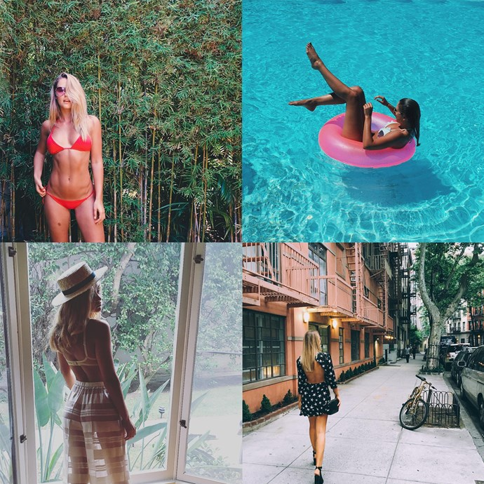 """<p> Name: Steph Smith / <a href=""""https://www.instagram.com/stephclairesmith/?hl=en"""">@stephclairesmith</a><p> <p> Follower count: 1,000,000<p> <p> Known for: Her laid-back vibe and for picking up a Racing gig with Myer for the spring."""