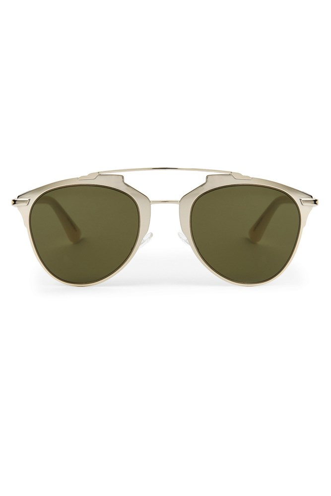 "<a href=""http://www.matchesfashion.com/au/products/Dior-Reflected-bi-colour-sunglasses-1068284"">Sunglasses, $459, Dior at matchesfashion.com</a>"