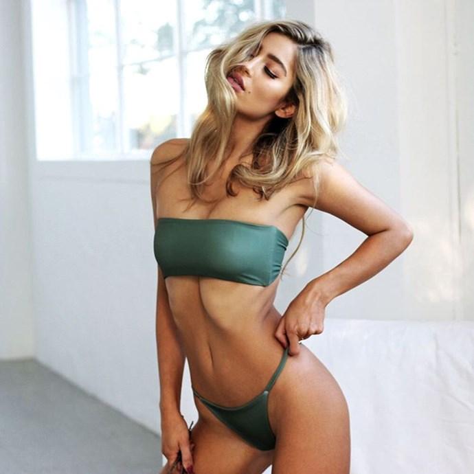 "<p>Label: Ocean Gem Swimwear <p>Instagram handle: <a href=""https://www.instagram.com/oceangem_swim/"">@oceangem_swim</a> <p>Swimwear style: Sexy, simple styles with skimpy bottoms in block colours."