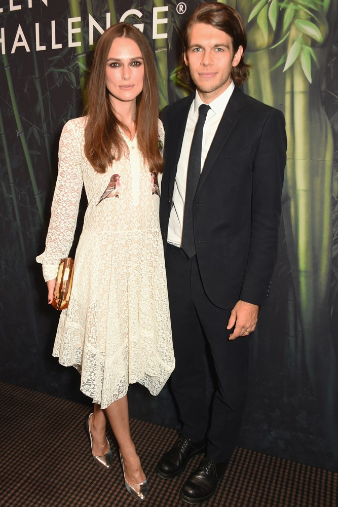 <strong>Keira Knightley and James Righton</strong><br> Knightley and Righton, a musician, met through mutal friend Alexa Chung in 2011, and the actress has said her now-husband changed her views on marriage. They have a daughter, Edie.