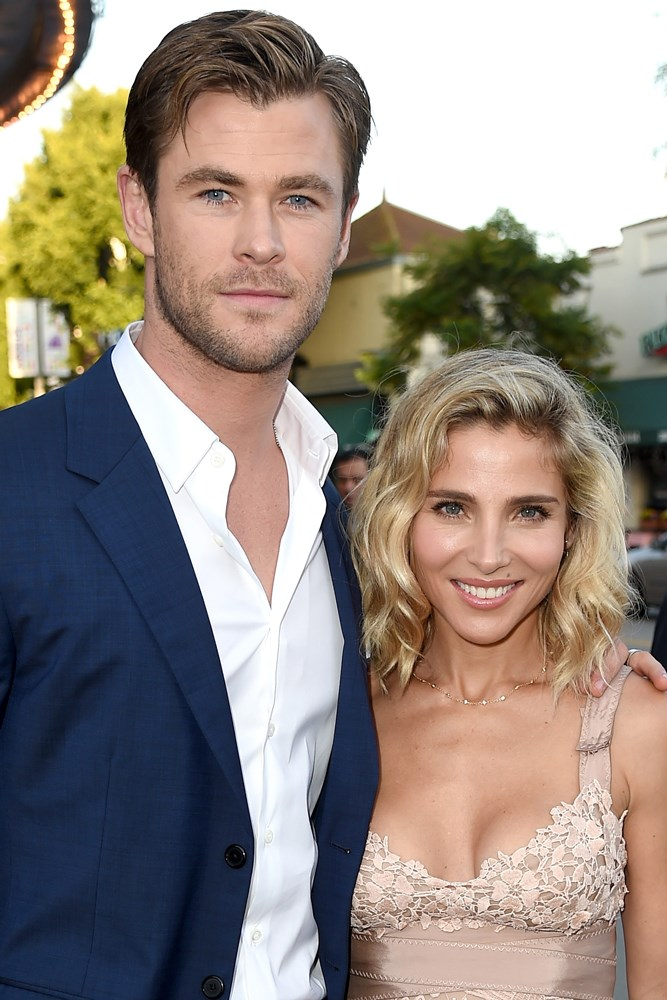 <strong>Chris Hemsworth and Elsa Pataky</strong><br> Chris reportedly Googled Pataky before they met, through their mutual agent in 2010.
