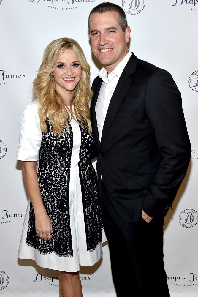 <strong>Reese Witherspoon and Jim Toth</strong><br> Witherspoon was every woman who's ever been hit on by a drunk guy at a house party, until her future husband Jim Toth swooped in to spare her from his friend's drunken advances. They began dating in 2010 and married in 2011.