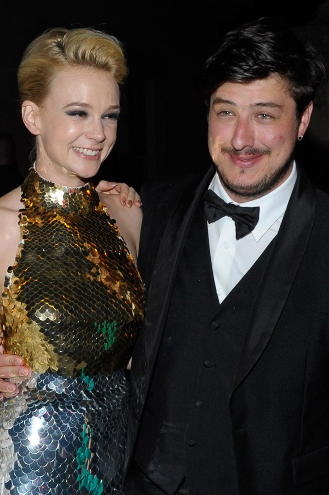<strong>Carey Mulligan and Marcus Mumford</strong><br> As children, Mulligan and Mumford were pen pals through church, but lost touch, before reuniting once they were both relatively famous. They started dating in 2011 and married in 2012.