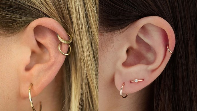 Ear Piercings By Maria Tash