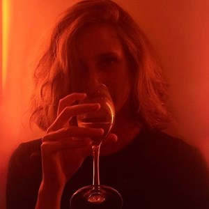 louise delage instagram drinking wine