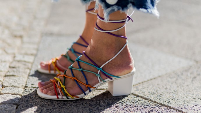 summer sandals as workwear