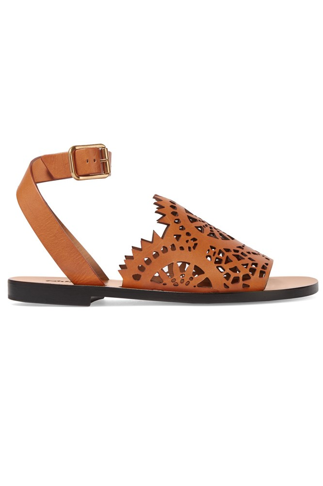 "<a href=""https://www.farfetch.com/au/shopping/women/chloe--kelby-flat-sandals-item-11566792.aspx"">Sandals, $717, Chloé at farfetch.com</a>"