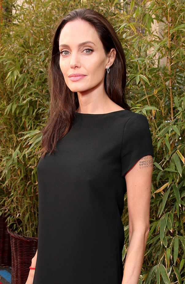 """<p><strong>Angelina Jolie</strong> <p>Angelina Jolie didn't make a big deal about her name change after she married Brad Pitt in August 2014—instead she chose to honour it in small but notable ways. When she wrote a piece for <em><a href=""""http://www.nytimes.com/2015/03/24/opinion/angelina-jolie-pitt-diary-of-a-surgery.html?_r=0"""" target=""""_blank"""">The New York Times</a></em> about her surgery procedures, her byline was Angelina Jolie Pitt, and her name appeared as Angelina Jolie Pitt on the posters for <em>By the Sea</em>, the movie in which she and Brad played a couple on the brink of divorce."""
