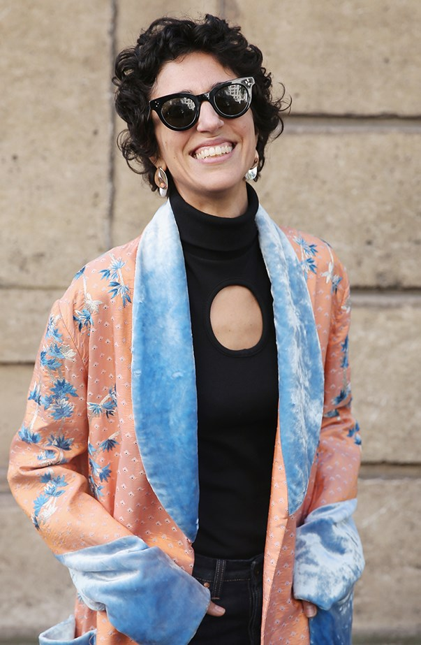 """<p><strong>Yasmin Sewell</strong> <p>Australian-born Yasmin Sewell is a star in fashion circles because of her effortless style and high profile fashion gigs (she's the fashion director for the relaunch of style.com). Her maiden name is Yasmin Abdallah and her husband is Kyle Robinson (she co-founded Être Cécile with him and Jemma Dyas), so where does Sewell come from? Yasmin was actually briefly married to English actor Rufus Sewell after a whirlwind romance. They married when she was 23 and separated less than a year later. Yasmin said in <a href=""""http://www.canberratimes.com.au/ipad-app-only/how-australian-style-oracle-yasmin-sewell-is-influencing-global-fashion-20160303-gn8fvs.html"""" target=""""_blank"""">an interview</a> of her name, """"I get a bit of stick for that, but I kept Sewell because my maiden name was such a heavy one to carry and it was around the time of 9/11 and it was a bit hard to be in business."""" On official documents she will take the name Robinson."""