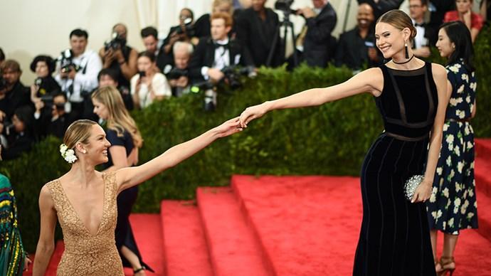 Behati Prinsloo and Candice Swanepoel.
