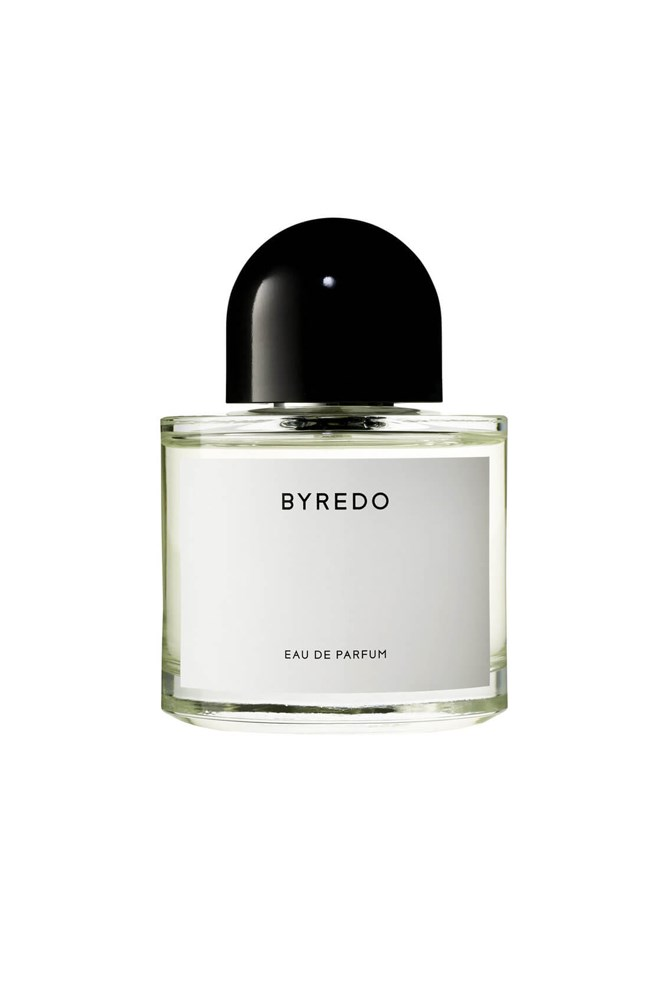 """<strong>Personalised fragrance</strong><br> For a limited time, you can have this unisex Byredo fragrance printed with a bespoke name at select Mecca stores.<br><br> <a href=""""http://mecca.com.au/byredo/unnamed-perfume/V-024752.html?cgpath=fragrance-personalfragrance"""">Unnamed Perfume, $158 for 50ml, Byredo</a>"""