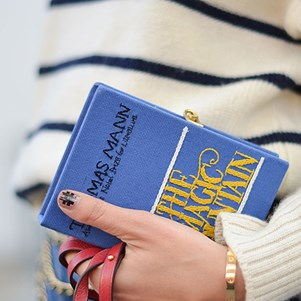 Olympia Le Tan Book Clutch