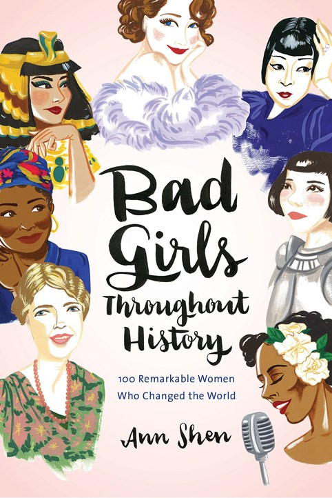 "<a href=""http://www.booktopia.com.au/bad-girls-throughout-history-ann-shen/prod9781452153933.html"">'Bad Girls Throughout History: 100 Remarkable Women Who Changed The World' by Ann Shen, $30.80 (Chronicle Books)</a> <br> An illustrated guide to the baddest women in history. From Marie Curie to Joan Jett, this must-have coffee table book is here to remind you of the amazing women who've gone before you. All that's left to do is follow their lead."