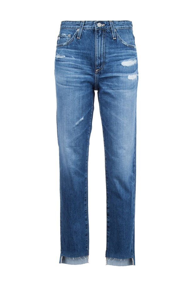 "Jeans, $367, <a href=""https://www.farfetch.com/au/shopping/women/ag-jeans-distressed-cropped-jeans-item-11504416.aspx?storeid=9058&from=listing&tglmdl=1&ffref=lp_pic_632_3_"">AG Jeans at farfetch.com</a>."