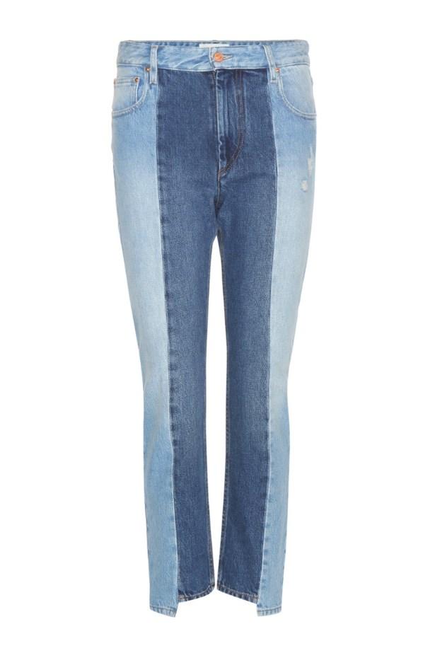 "Jeans, $475, <a href=""http://www.mytheresa.com/en-au/clancy-cropped-jeans-664660.html?catref=category"">Isabel Marant, Étoile, at mytheresa.com</a>."