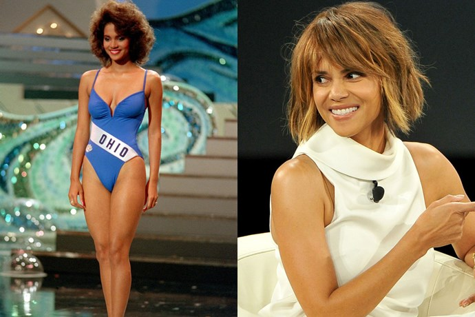 <strong>Halle Berry</strong><br> Berry was Miss Ohio in the 1986 Miss America pageant.